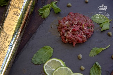 Steak Tartar with The Palace Blend EVOO