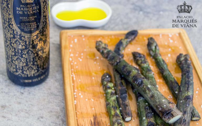 Grilled asparagus with our Sublime EVOO