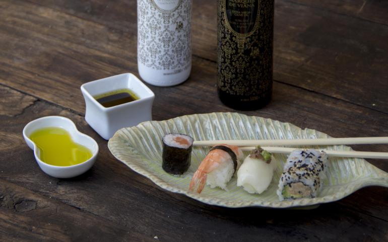 Sushi& Nigiris saludables con nuestros aceites de oliva virgen extra